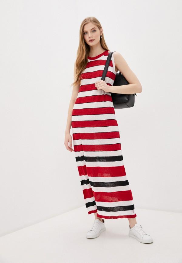 женское платье woolrich, красное