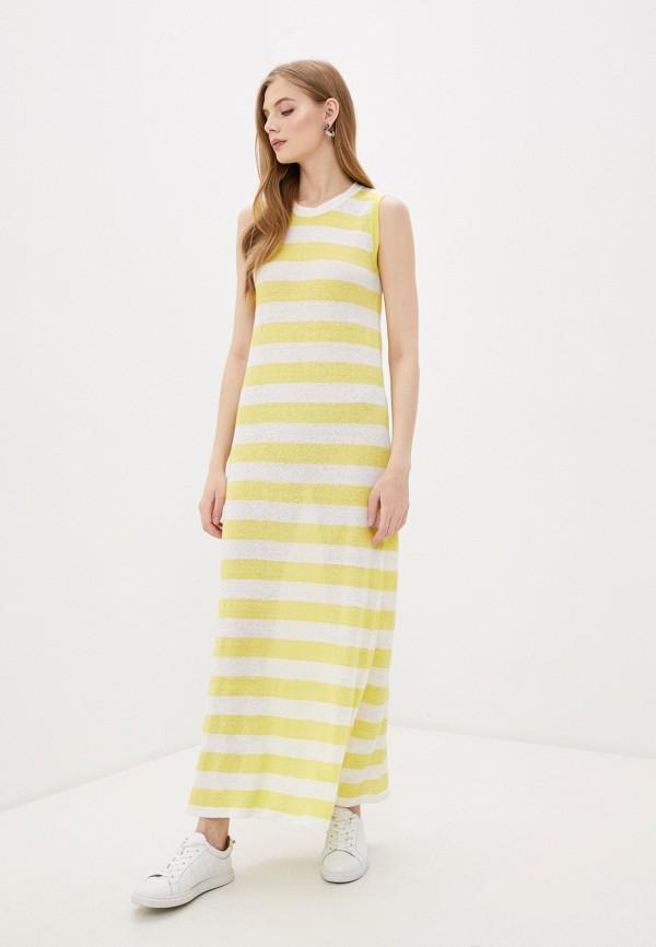 женское платье woolrich, желтое