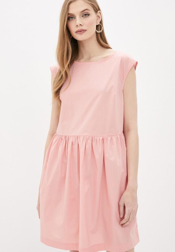 женское повседневные платье woolrich, розовое