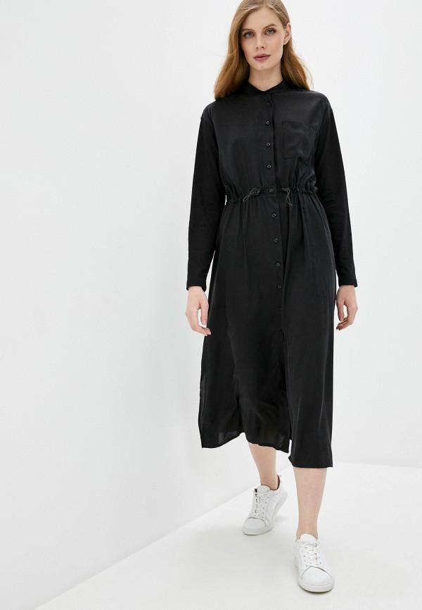 женское платье woolrich, черное