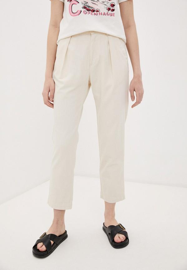 женские повседневные брюки woolrich, белые