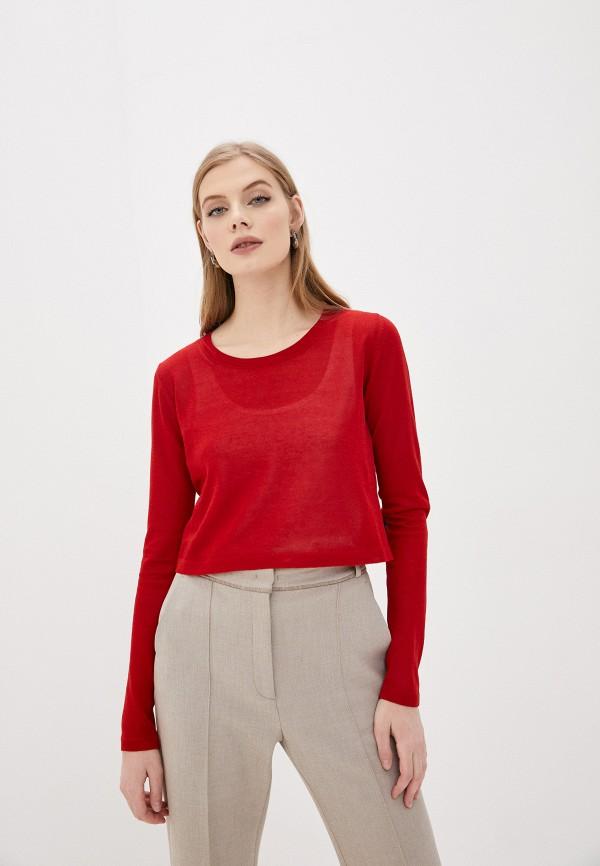 женский джемпер woolrich, красный