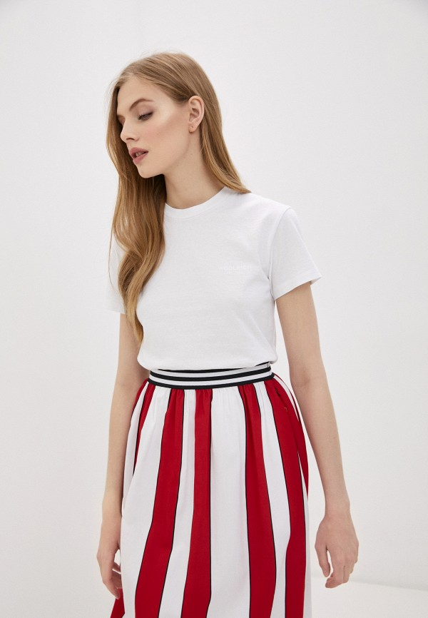 женская футболка woolrich, белая
