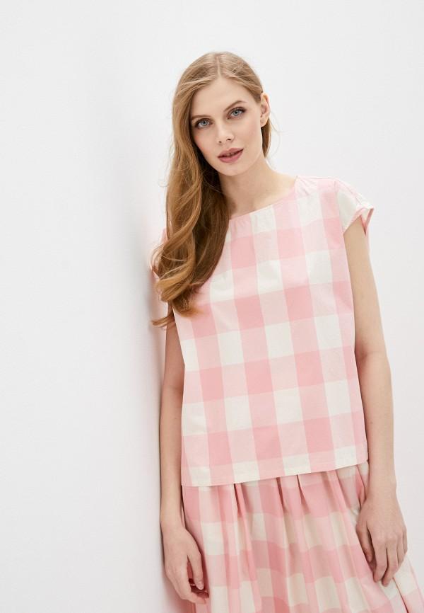 женский топ woolrich, розовый