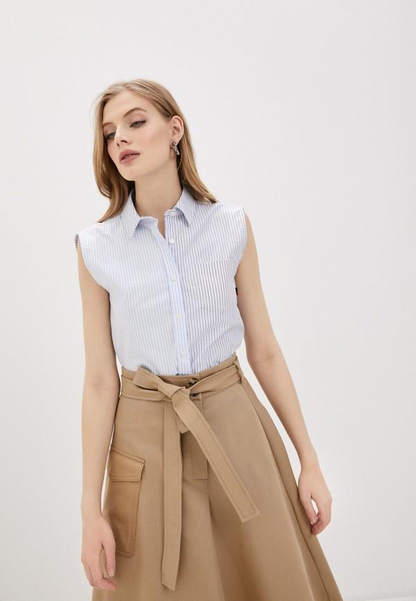 Блуза Woolrich голубого цвета