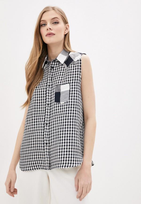 женская блузка woolrich, черная