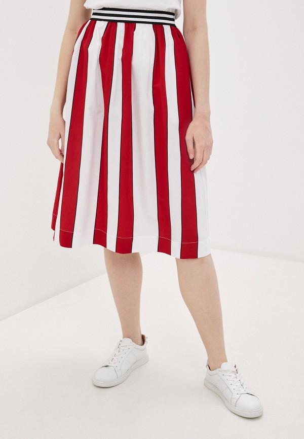 женская юбка woolrich, красная