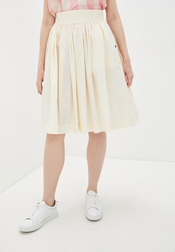 женская юбка woolrich, бежевая
