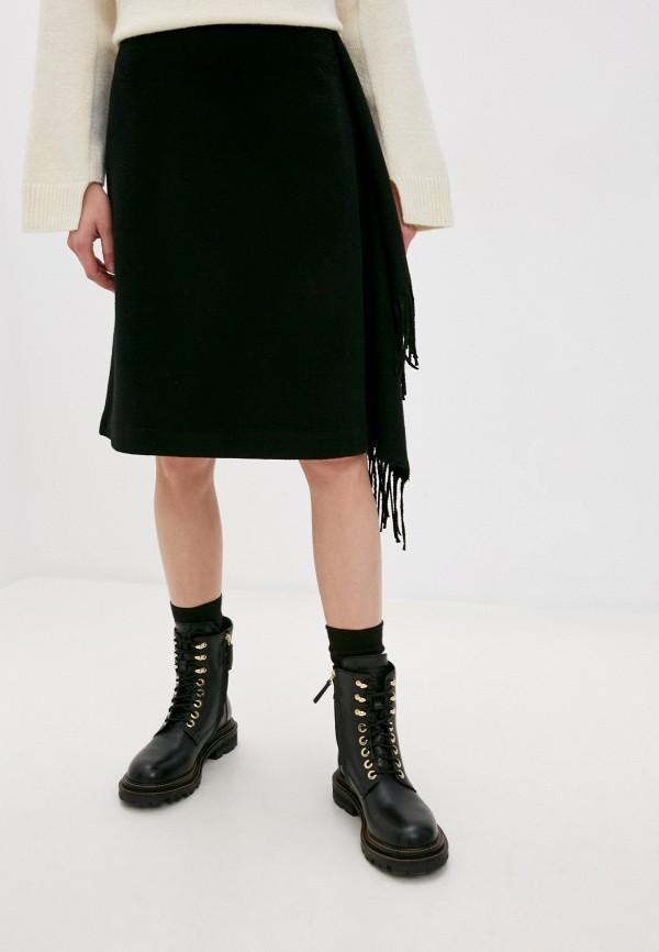 женская юбка woolrich, черная