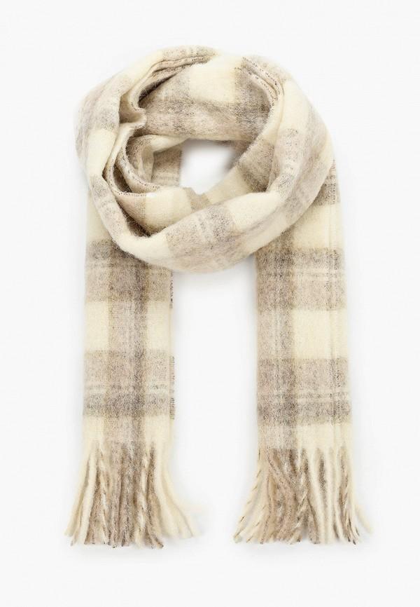 женский шарф woolrich, бежевый