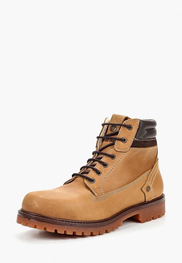 Купить Ботинки Wrangler, Yuma Creek Felt Fur, wr224amcnwu0, коричневый, Осень-зима 2018/2019