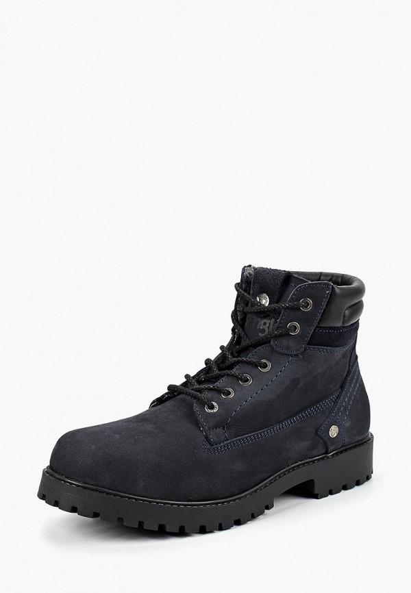 Купить Ботинки Wrangler, YUMA CREEK FUR, wr224amcnwu1, синий, Осень-зима 2018/2019
