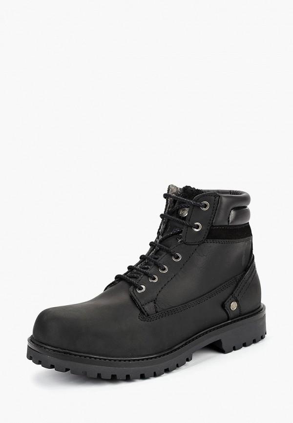 Купить Ботинки Wrangler, YUMA CREEK FUR, wr224amcnwu2, черный, Осень-зима 2018/2019