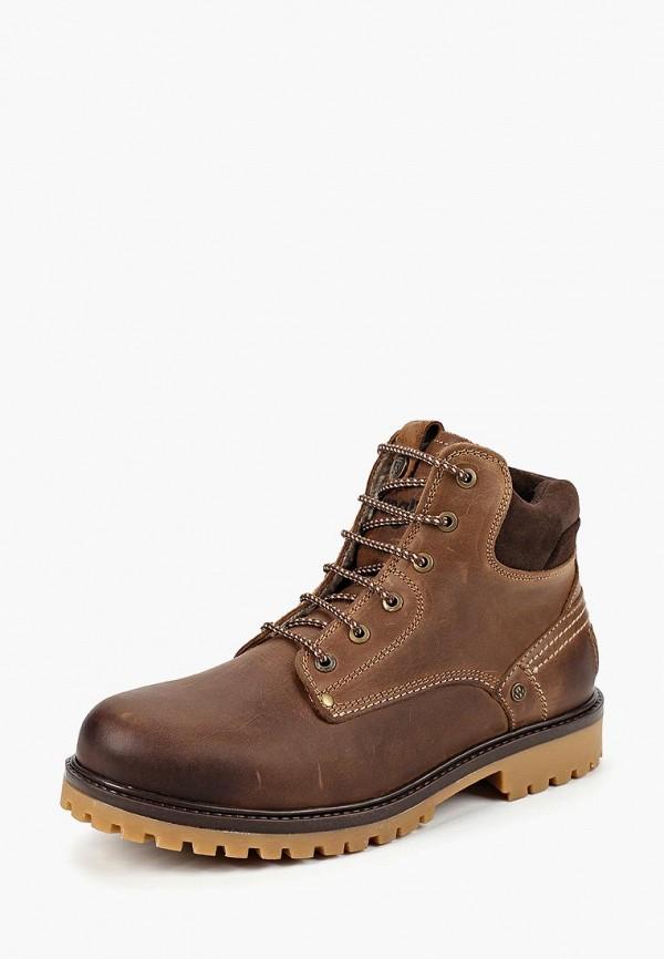 Купить Ботинки Wrangler, Yuma Fur S, wr224amcplw2, коричневый, Осень-зима 2018/2019