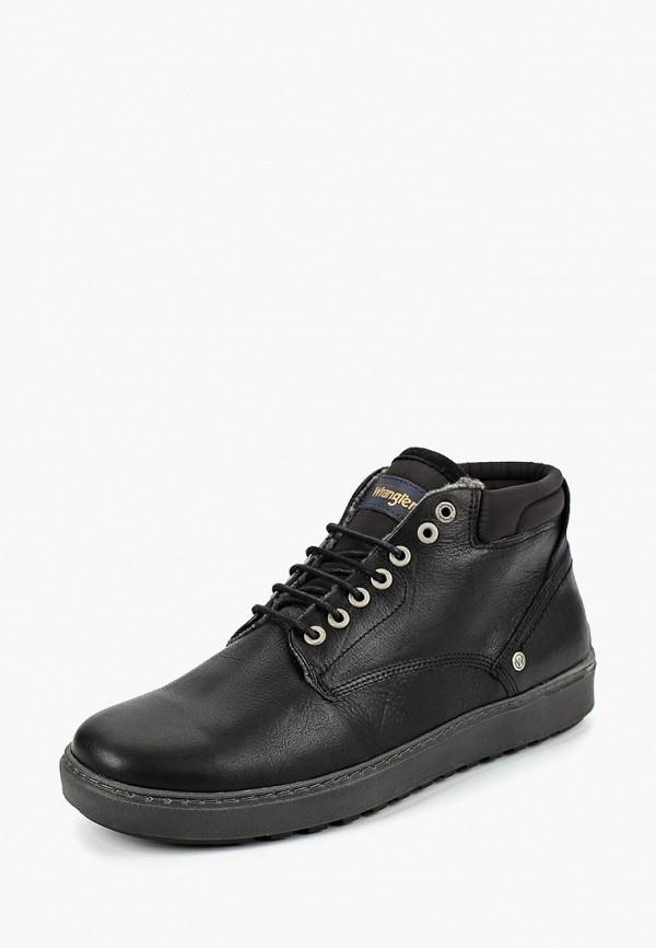 Купить Ботинки Wrangler, Historic Chukka Fur S, wr224amcplx2, черный, Осень-зима 2018/2019