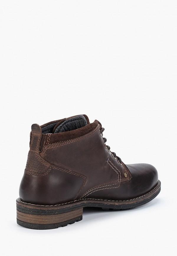 Фото 3 - мужские ботинки и полуботинки Wrangler коричневого цвета