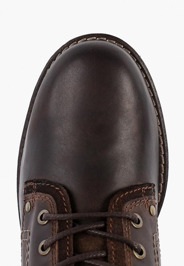 Фото 4 - мужские ботинки и полуботинки Wrangler коричневого цвета