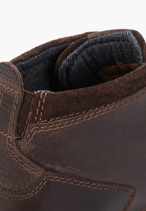 Фото 6 - мужские ботинки и полуботинки Wrangler коричневого цвета