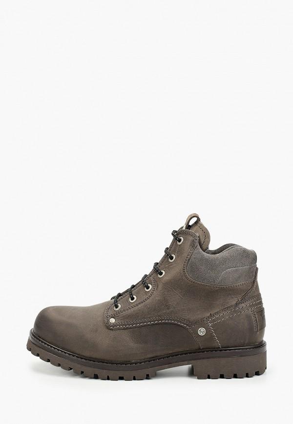 мужские ботинки wrangler, серые
