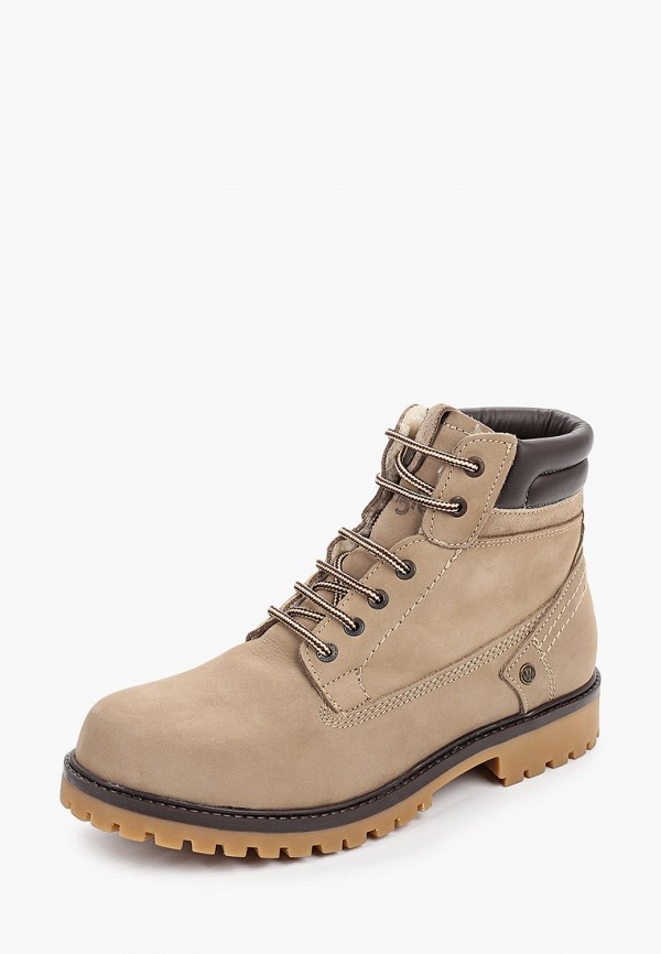 Фото 2 - мужские ботинки и полуботинки Wrangler бежевого цвета