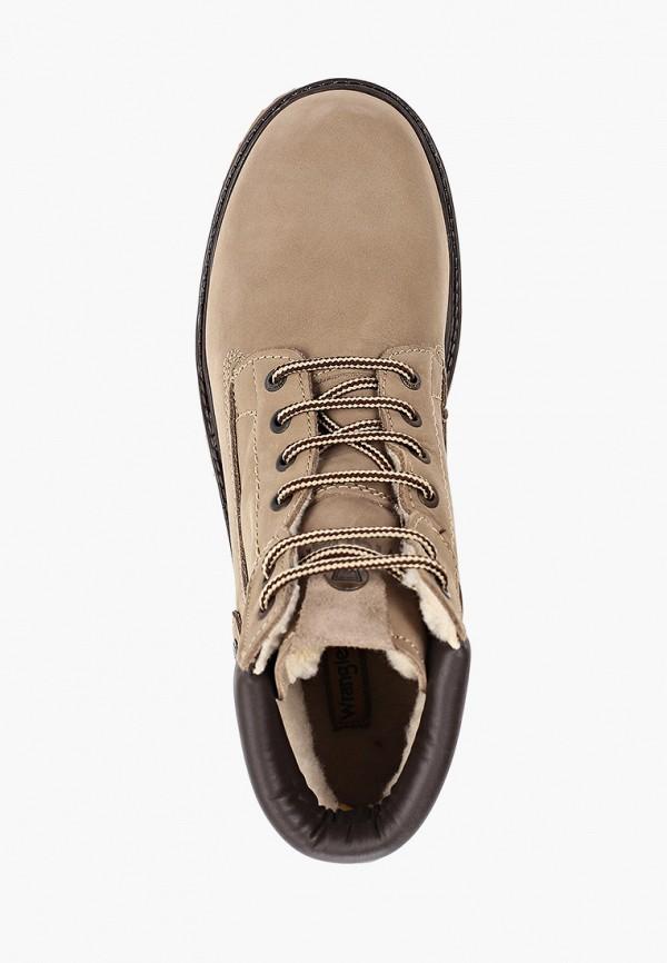 Фото 4 - мужские ботинки и полуботинки Wrangler бежевого цвета