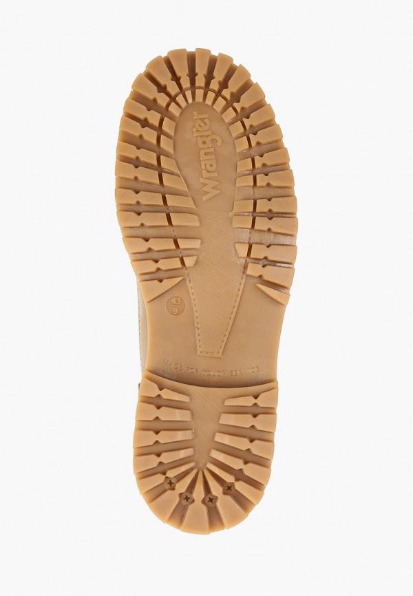Фото 5 - мужские ботинки и полуботинки Wrangler бежевого цвета