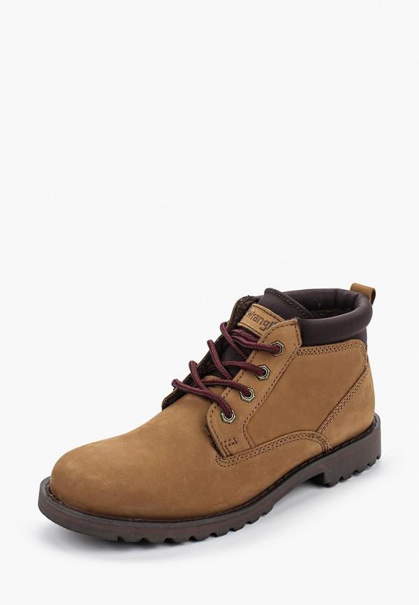 Фото 2 - мужские ботинки и полуботинки Wrangler коричневого цвета
