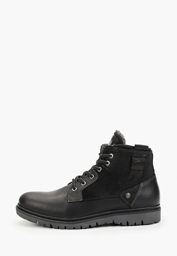мужские ботинки wrangler, черные