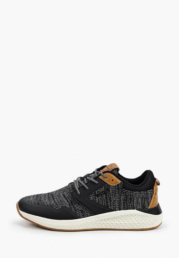 мужские низкие кроссовки wrangler, черные
