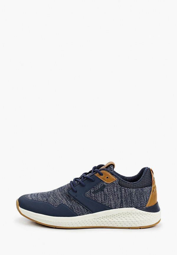 мужские низкие кроссовки wrangler, синие