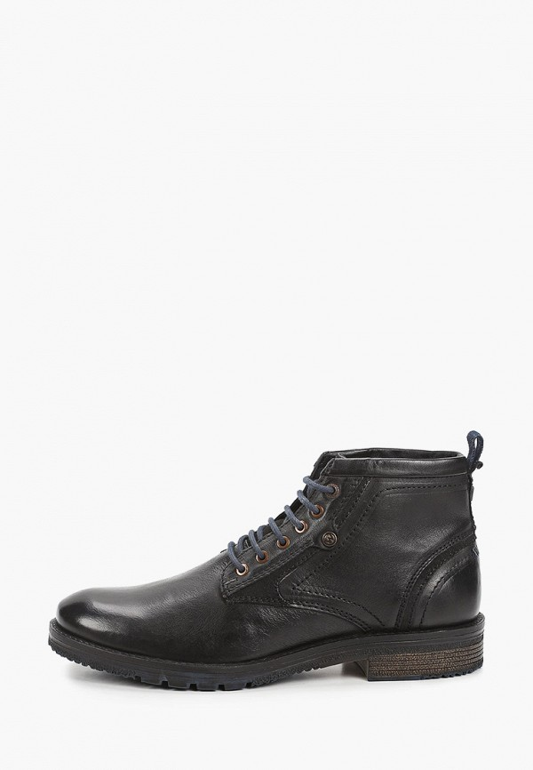 мужские ботинки wrangler, синие
