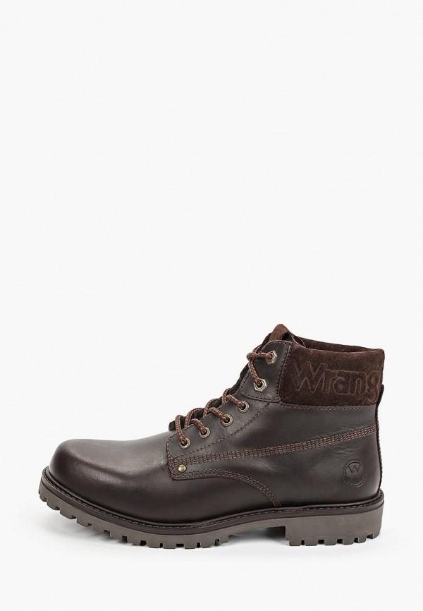 мужские ботинки wrangler, коричневые