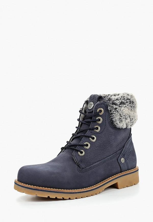 Купить Ботинки Wrangler, WR224AWCPMH1, синий, Осень-зима 2018/2019