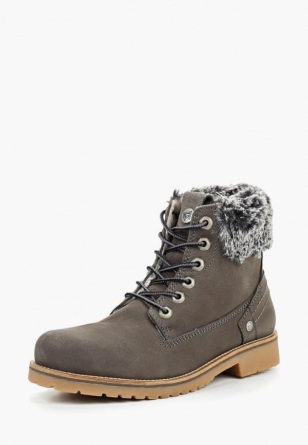 Купить Ботинки Wrangler, WR224AWCPMH3, серый, Осень-зима 2018/2019
