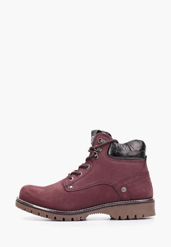 женские ботинки wrangler, фиолетовые