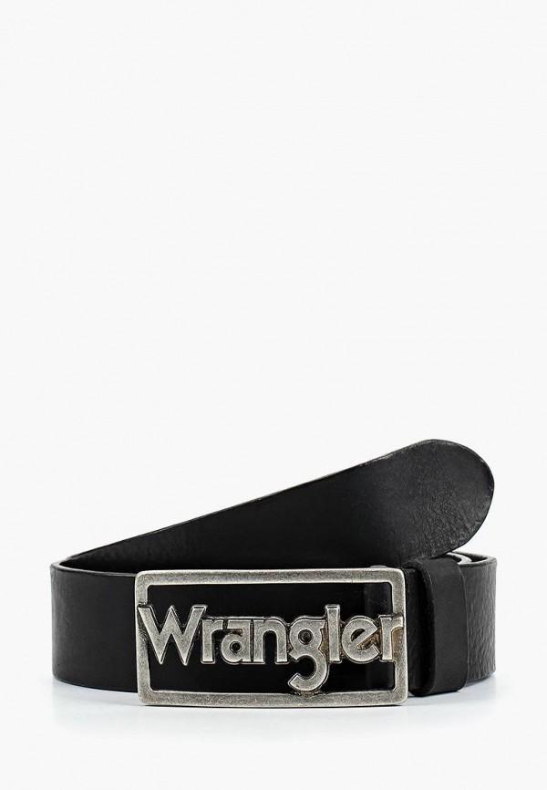 мужской ремень wrangler, черный