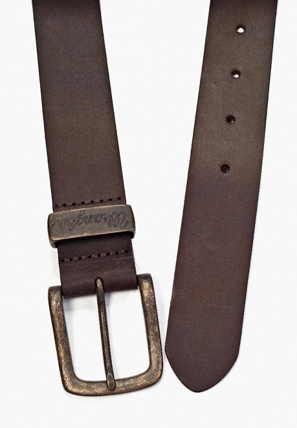 Фото 11 - Ремень Wrangler коричневого цвета