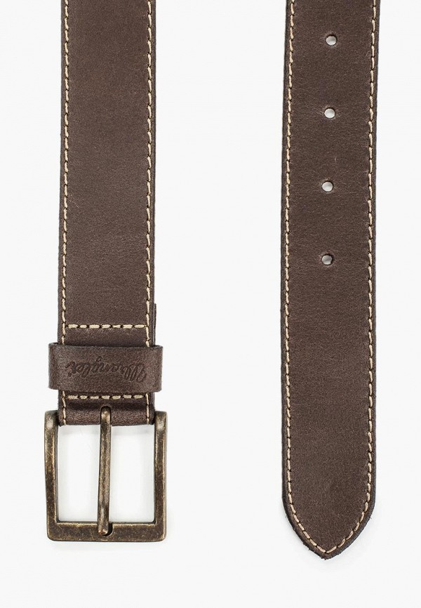 Фото 2 - Ремень Wrangler коричневого цвета