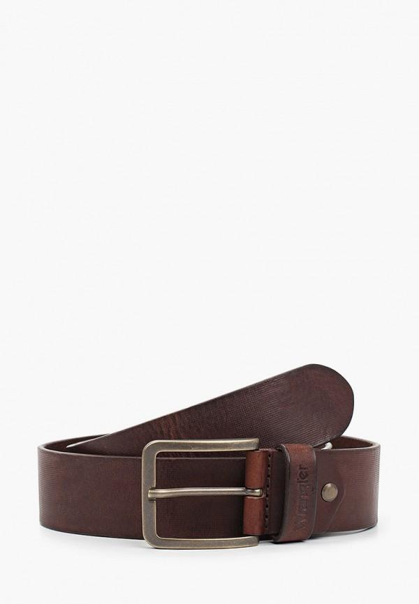 Ремень Wrangler Wrangler W0F1U1X85 коричневый фото