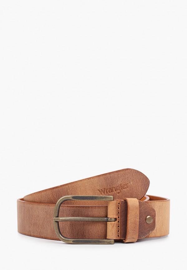 Ремень Wrangler Wrangler W0G6U1H16 коричневый фото