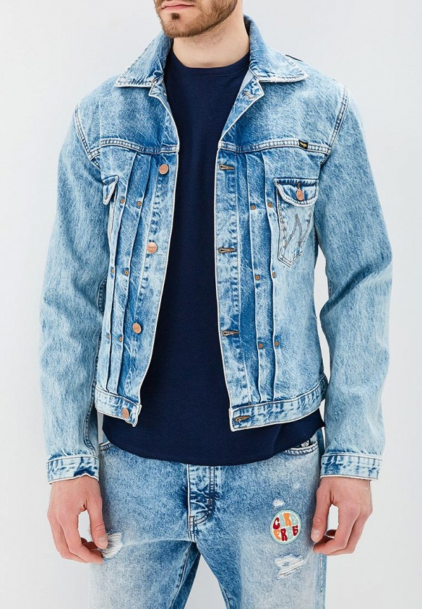 Куртка джинсовая Wrangler Wrangler WR224EMAPFC8