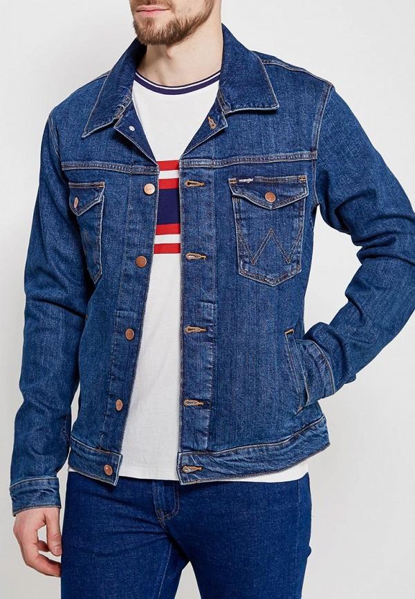 Куртка джинсовая Wrangler Wrangler WR224EMAPFC9
