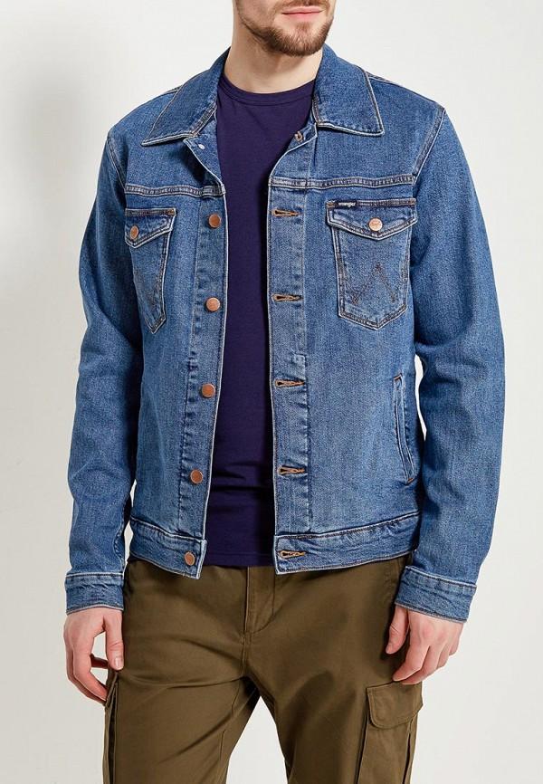Куртка джинсовая Wrangler Wrangler WR224EMAPFD0