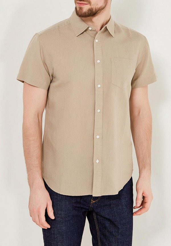 Рубашка Wrangler Wrangler WR224EMAPFE2 wrangler wrangler wl161641 100