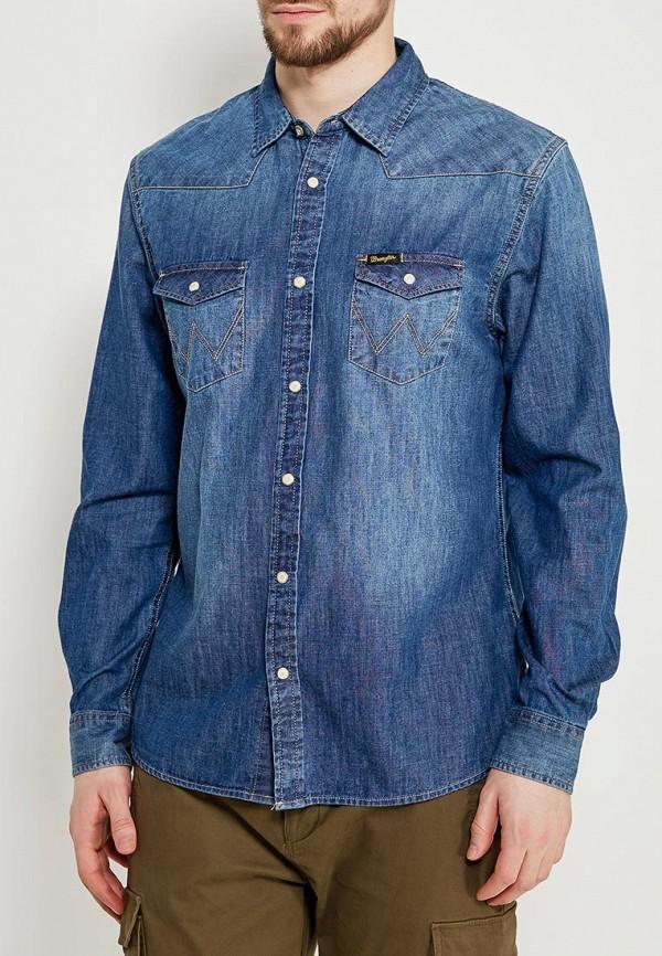 Рубашка джинсовая Wrangler Wrangler WR224EMAPFF9