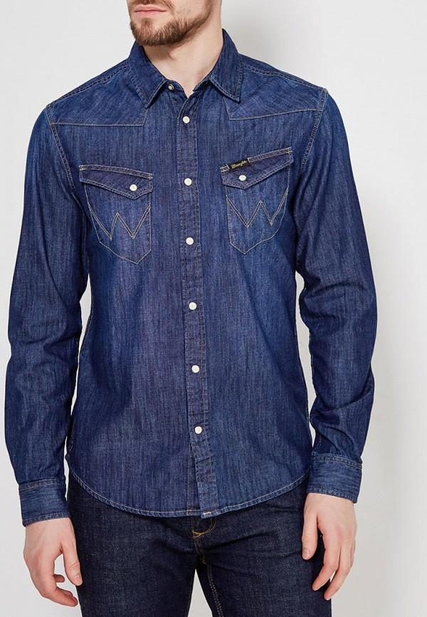 Рубашка джинсовая Wrangler Wrangler WR224EMAPFG0 слипоны wrangler wrangler wr224amqya37