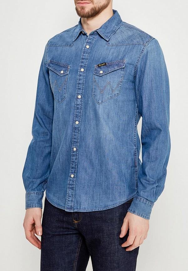 Рубашка джинсовая Wrangler Wrangler WR224EMAPFG1 слипоны wrangler wrangler wr224amqya37