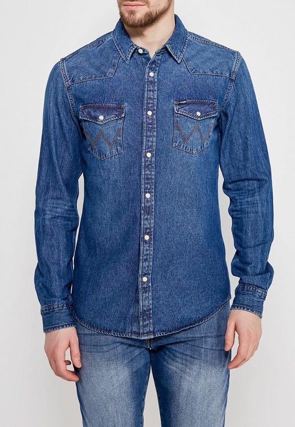 Рубашка джинсовая Wrangler Wrangler WR224EMAPFG3