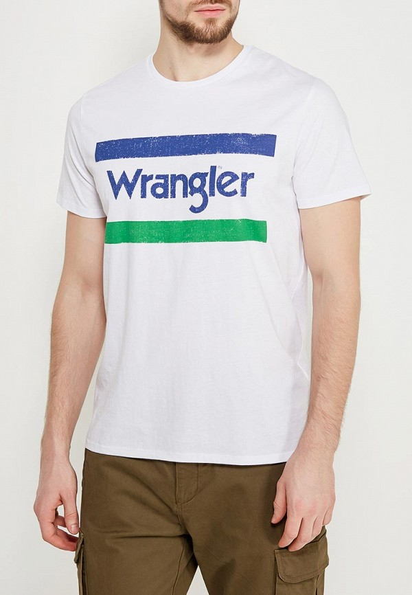 Футболка Wrangler Wrangler WR224EMAPFI8 футболка wrangler wrangler wr224emapfi8