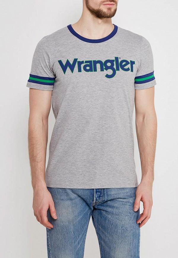 Футболка Wrangler Wrangler WR224EMAPFJ2 футболка wrangler w7b52gnuy
